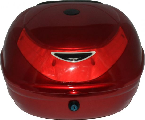 Tail Storage Box - PHX Scooter Standard, Gloss Red