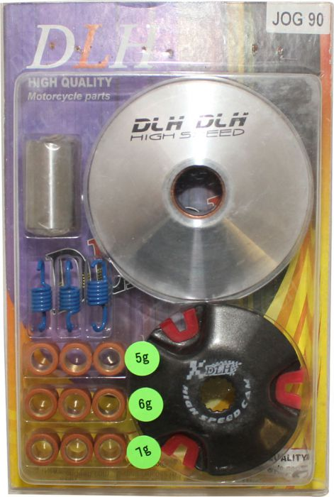 Drive Plate Assembly - DLH Edition, Flywheel, JOG90 (15pc set)