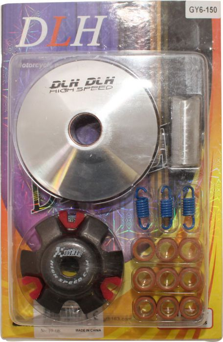 Drive Plate Assembly - DLH Edition, Flywheel, GY6 150 (15pc set)