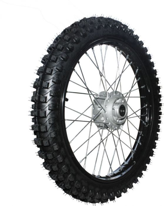 Rim and Tire Set - Front 17