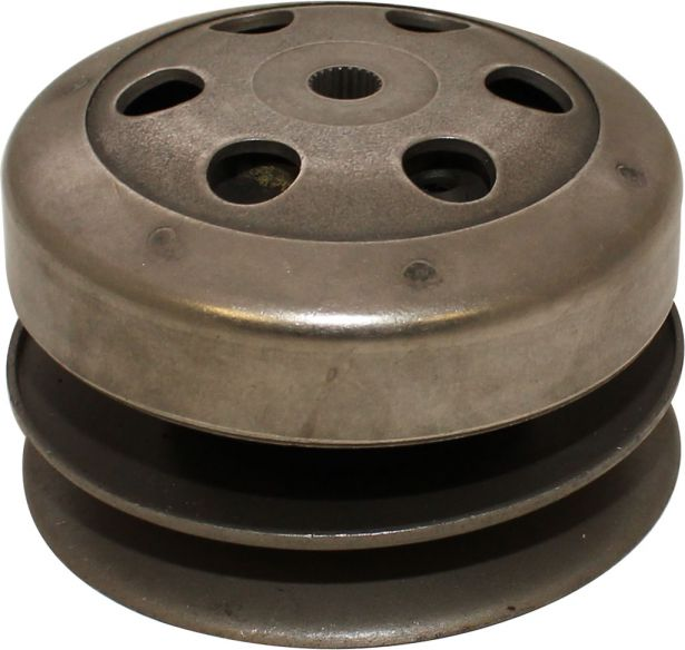 Clutch - Drive Pulley with Clutch Bell, GY6, 50cc, 22 Spline