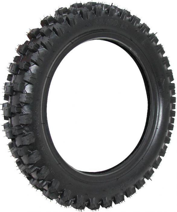 Tire - 80/100-12 (3.00-12), 12 Inch, Dirt Bike