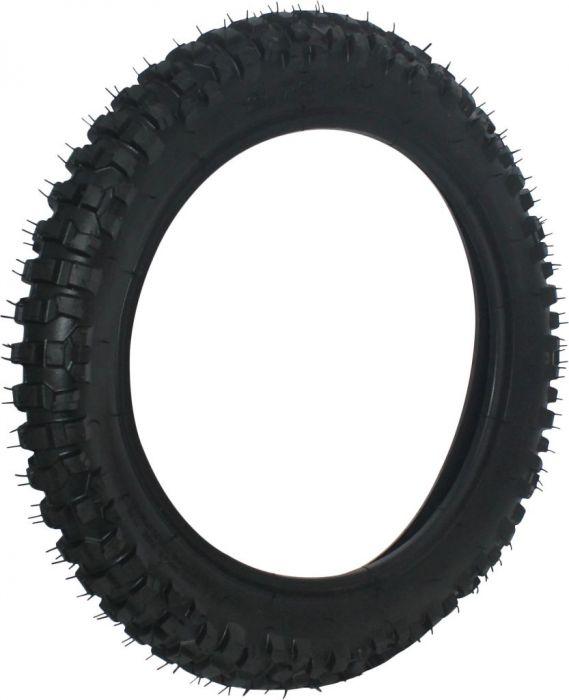 Tire - 80/100-12 (2.75-12), 12 inch, Dirt Bike