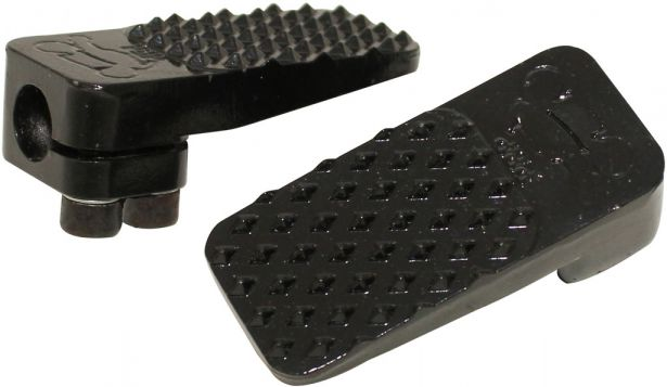 Foot Pegs - Dirt Bike, Metal