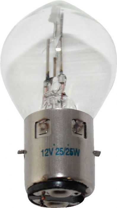 Light Bulb - 12V 25W, Dual Contact (Ba20d)