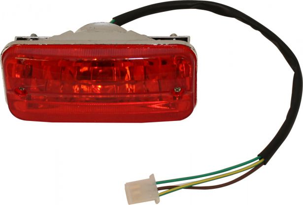 Rear Light - 50cc to 125cc ATV,  Utility Style