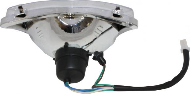 Front Light - 50cc to 250cc ATV, Racing Style