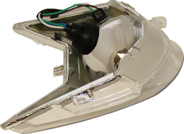 Front Light - 50cc to 125cc ATV, Racing Style