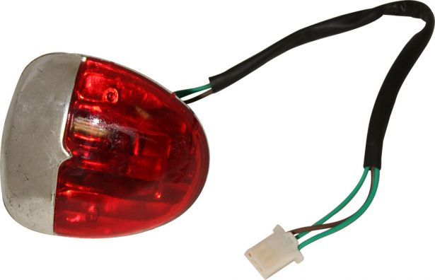 Rear Light - 50cc to 125cc ATV, Racing Style