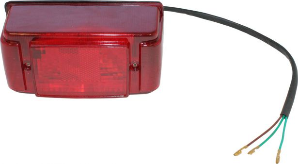 Rear Light - 150cc to 250cc, ATV, Utility Style