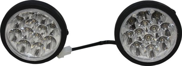 Front Light - ATV, Snow Blower, Set (2pcs)