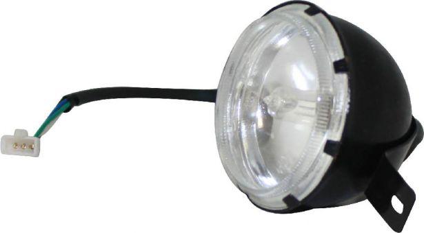 Front Light - Big Bull Round Lamp