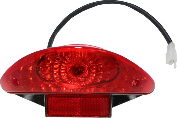 Rear Light - 150cc to 250cc ATV, Racing Style