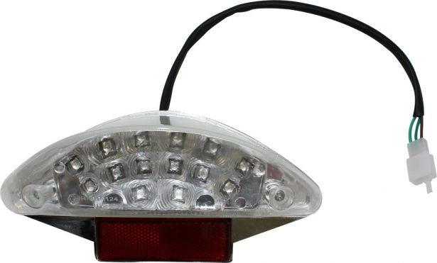 Rear Light - 150cc to 250cc ATV, Racing Style, LED