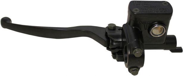 Brake Lever With Brake Oil Reservoir - Left Hand, Without Brake Lock