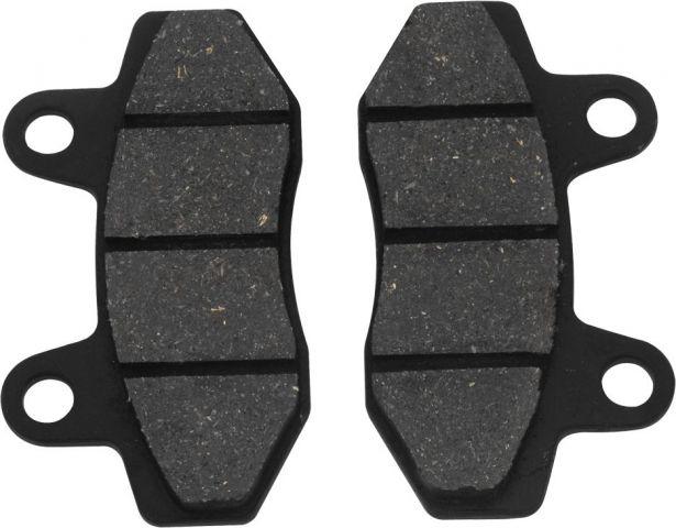 Brake Pads - 50cc to 250cc, Disk Brake, Small, Set