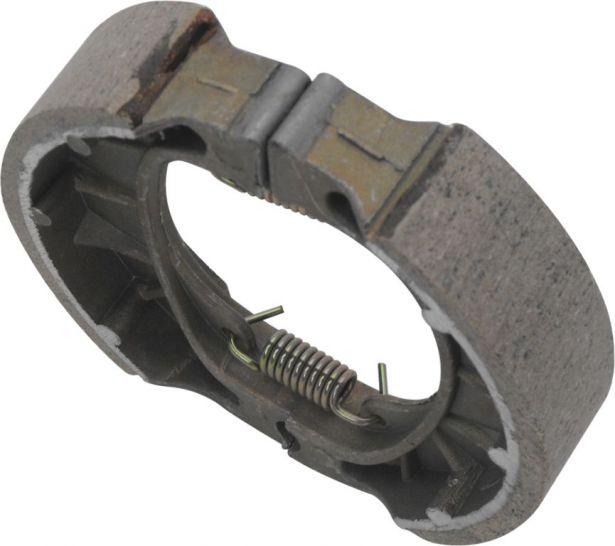 Brake Shoe - Universal, PW80 format, Drum Brakes