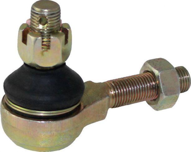 Tie Rod End - M12x1.25 Ball Stud, M12 Threaded Housing, Reverse Thread