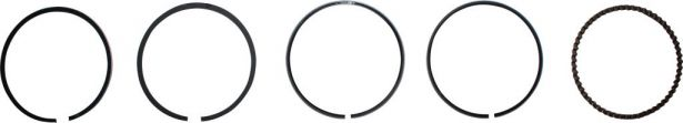 Piston Rings - 150cc, 56mm (5pcs)
