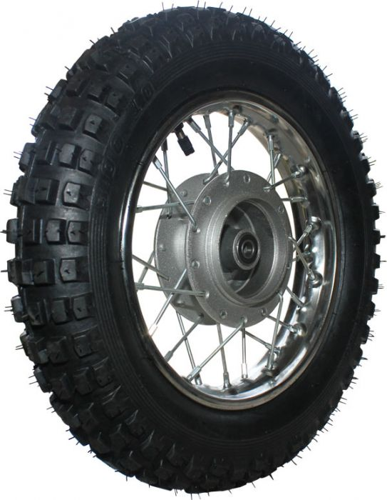 Rim and Tire Set - Front 10