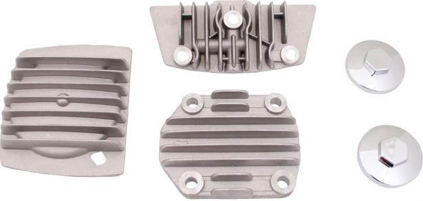 Cylinder Head Cover Set - 125cc, 5 pc