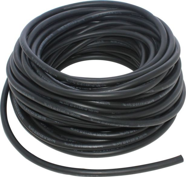 Fuel Line - Black, Tubing for Carburetors, Large, 5 meters, 8mm/13mm