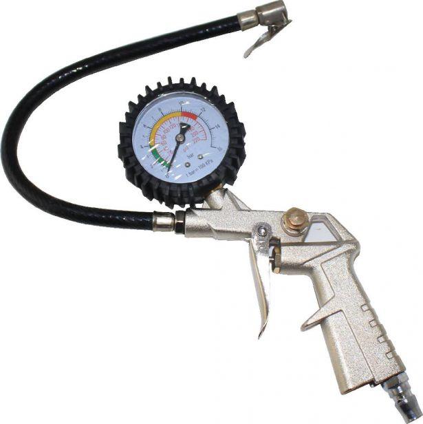 Tire Inflating Gun - Inflator and Gauge Kit