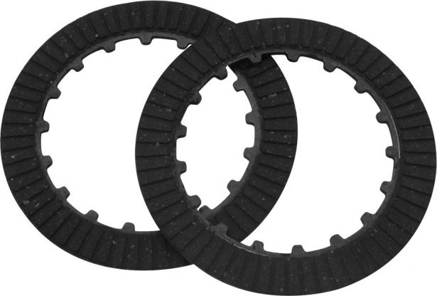 Clutch Plate Set - Manual, 125cc, Kick & Electric Start, 2pc