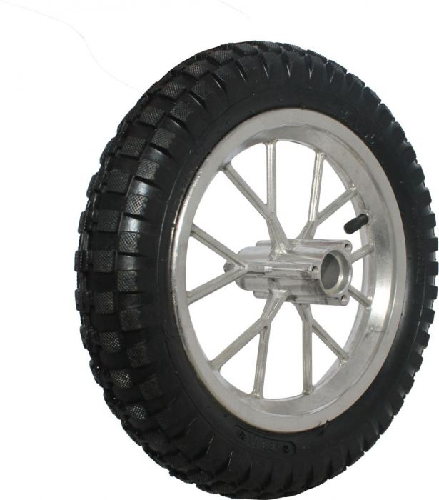 Rim and Tire Set - Rear 8