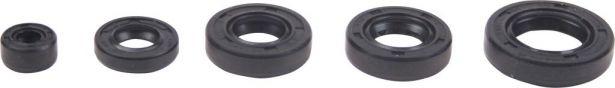 Oil Seal Kit - 125cc to 250cc, WY125, 5pcs