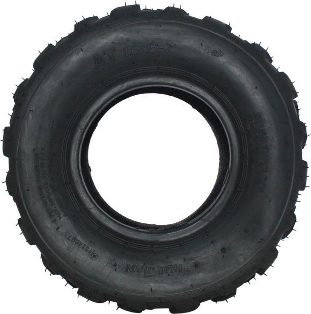 Tire - 16X8-7 (16x8x7), 50cc to 125cc, ATV