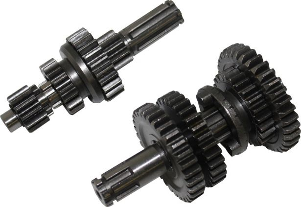 Gear Set - Manual/Automatic, Electric Start, 125cc, 3+1