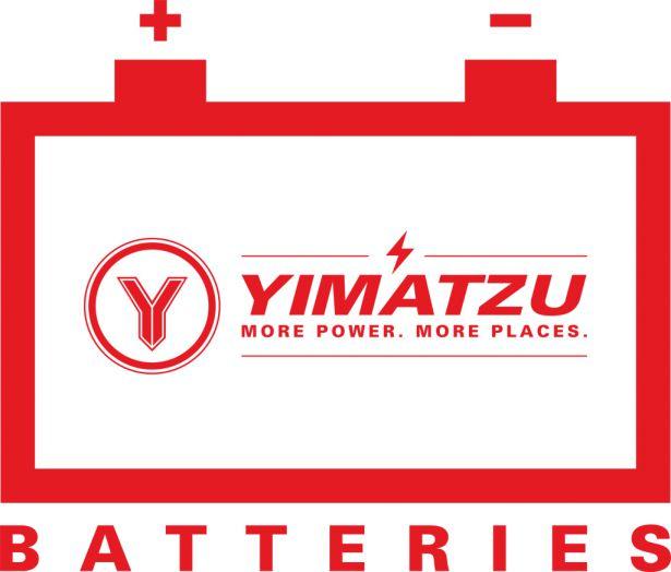 Yimatzu Batteries Window Sticker