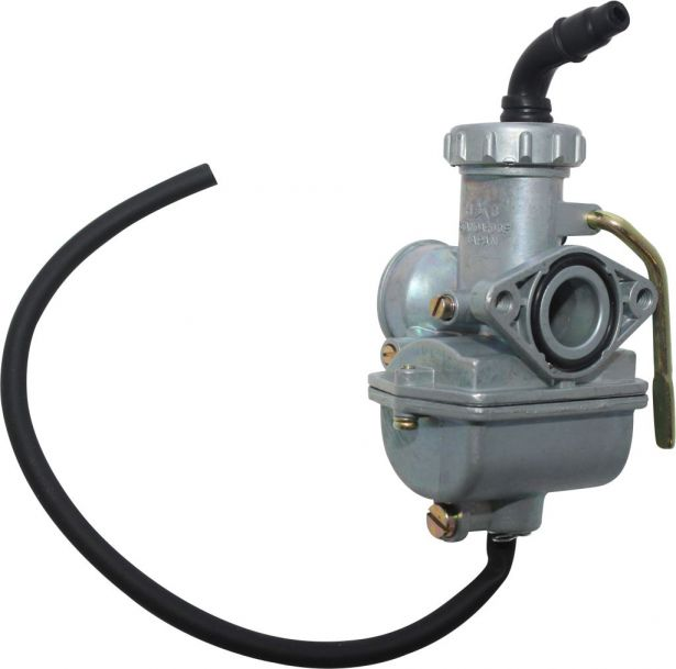Carburetor - 16mm, Manual Choke, Bent Head