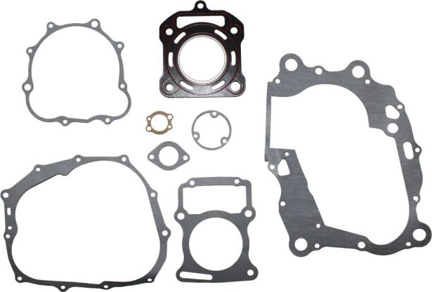 Gasket Set - 8pc, 200cc, Water Cooled Top and Bottom End