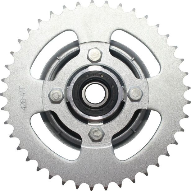 Sprocket - Rear, 428 Chain, 41 Tooth
