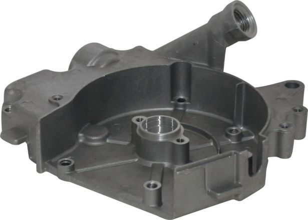 Engine Cover - Crank Case Cover, GY6, 50cc, Right