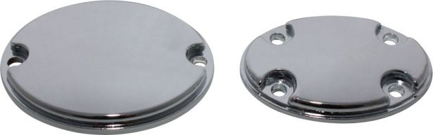 Engine Caps - 50cc to 125cc (2 pcs), 4-bolt