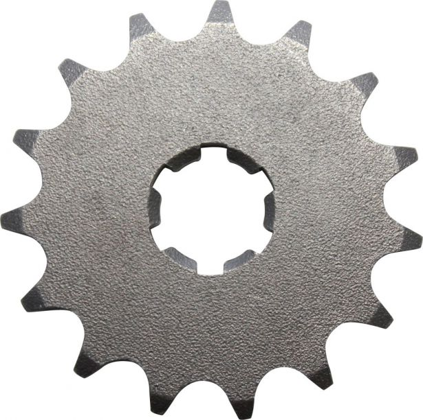Sprocket - Front, 15 Tooth, 428 Chain, 20mm Hole