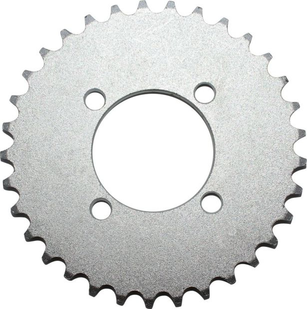 Sprocket - Rear, 420 Chain, 33 Tooth