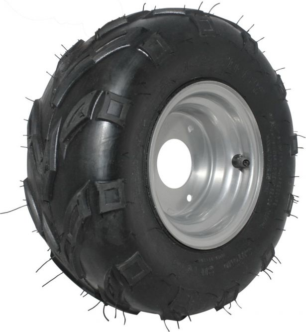 Rim and Tire Set - 145/70-6, ATV