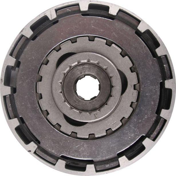 Clutch - Automatic, 50cc to 140cc, CB125,17 Teeth