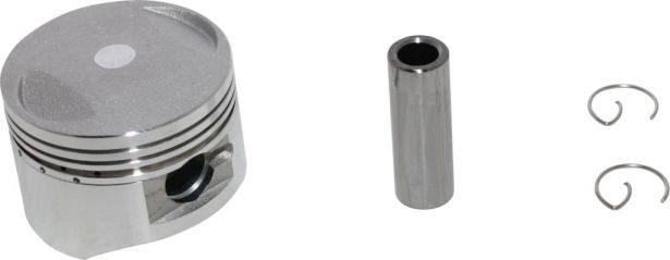 Motorcycle 54mm Piston Kit with 14mm Pin Includes Rings Circlips /& Gudgeon Pin