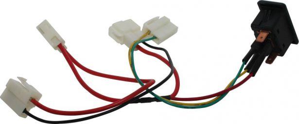 Winch Switch - In/Out, XY500UE, XY600UE, Chironex