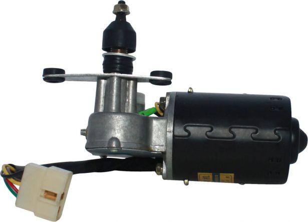 Wiper Motor - 12V, XY500UE, XY600UE, Chironex