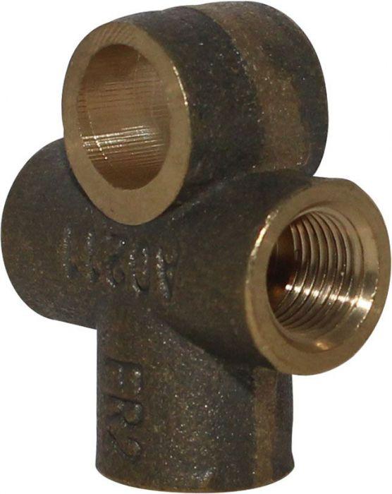 Brake Line T - Copper, XY500UE, XY600UE, Chironex