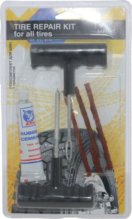 Tire Repair Tool Kit - 4pc