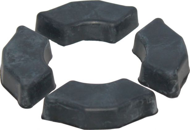 Rubber Shoes - Dampening Sprocket Shoes (4pcs)