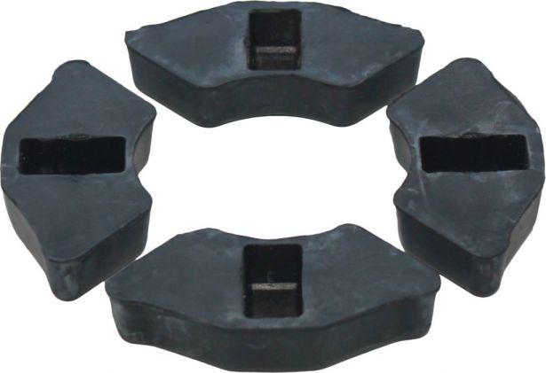 Rubber Shoes - Dampening Sprocket Shoes (4pcs)