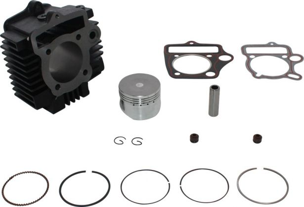 Cylinder Block Assembly - 50cc - 125cc, 54mm